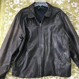 Men's Vintage J.Crew Leather Jacket